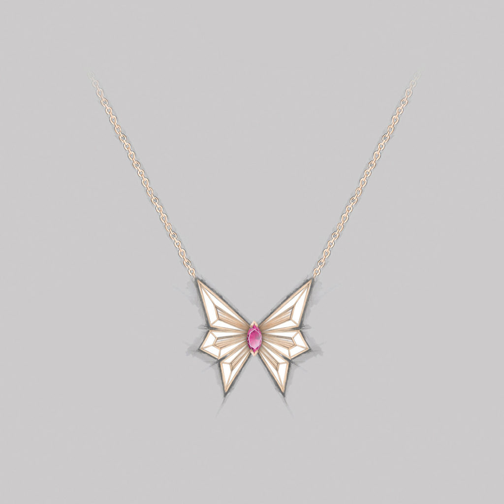 Stephen-Webster-Fly-By-Night-Neiman-Marcus-Rose-Gold-Necklace