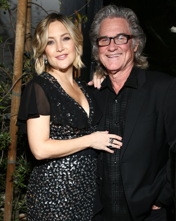 Kate Hudson wearing Dynamite Enamel Bombé Ring.