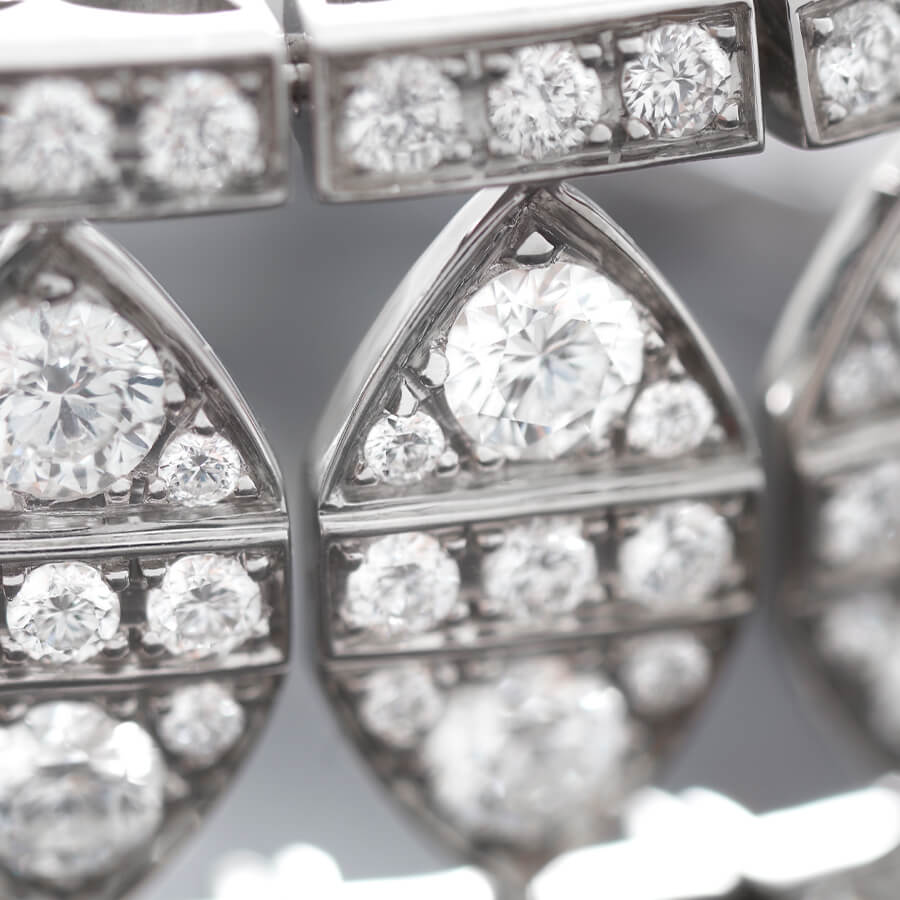Close up of the New York Bracelet from Stephen Webster's No Regrets collection.