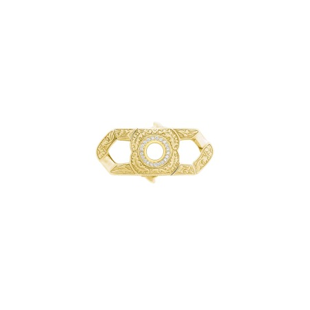 Men's Yellow Gold Half Corona Clasp | England Made Me