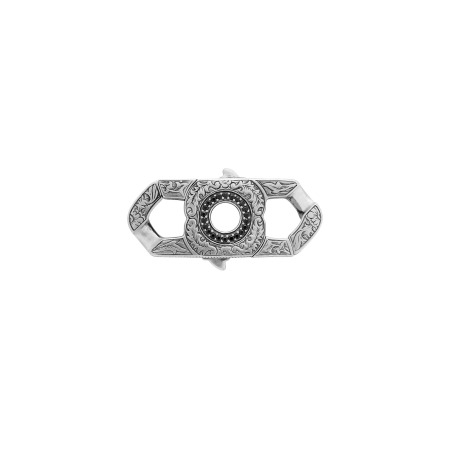 Men's Black Sapphire Revolutionary Clasp | England Made Me