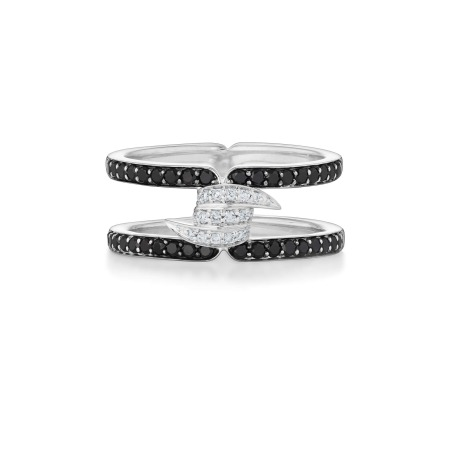 Forget Me Knot Diamond Band Ring   No Regrets Chapel