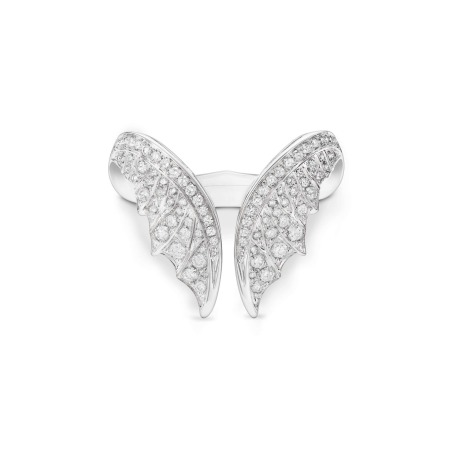 Magnipheasant White Gold Nesting Ring   No Regrets Chapel