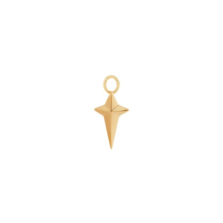 New Cross Yellow Gold Charm | Mens | Stephen Webster