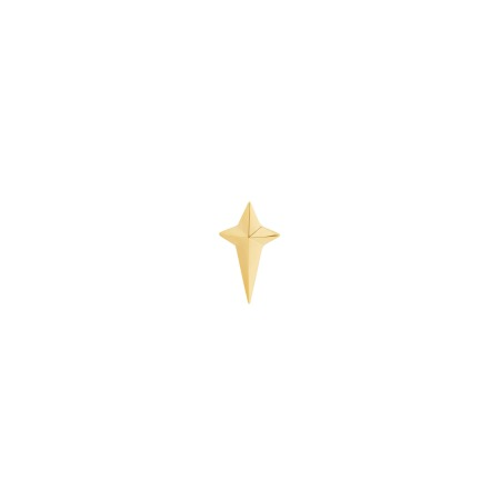 New Cross Yellow Gold Pin | Mens | Stephen Webster