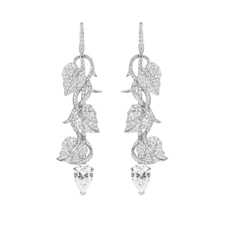 Poison Ivy Diamond Long Earrings | No Regrets