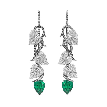 Poison Ivy Tourmaline Long Earrings | No Regrets