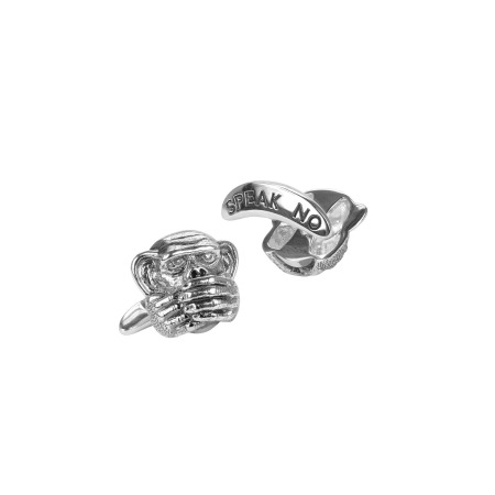 Men's Speak No Evil Cufflinks | Stephen Webster