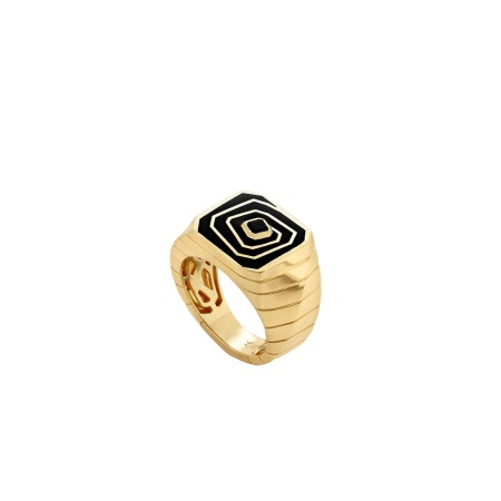 Vertigo Losing Perspective Ring | Mens | Stephen Webster