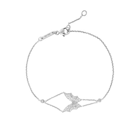 White Gold & White Diamond Pavé Bracelet | Fly By Night