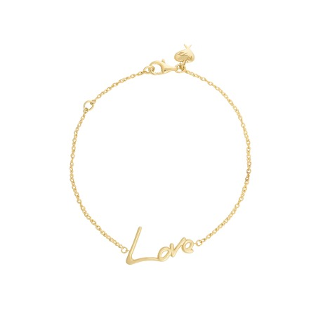 Neon Yellow Gold Love Bracelet | I Promise To Love You