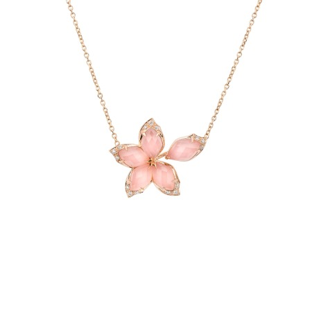 Small Rose Gold Pendant | Love Me, Love Me Not