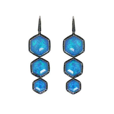 Haze Long Drop Earrings | Deco