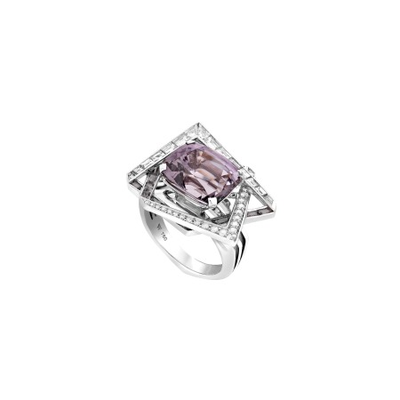 Vertigo Lost Horizon Cocktail Mauve Spinel Ring | Vertigo