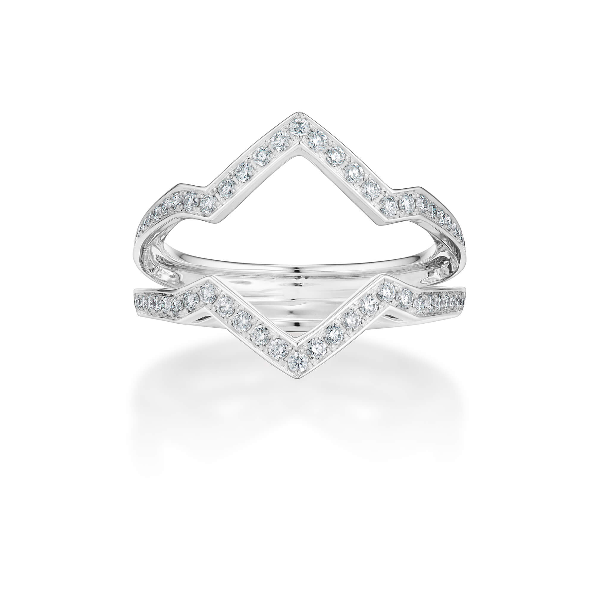 Band Together White Diamond Outer Ring | No Regrets Chapel
