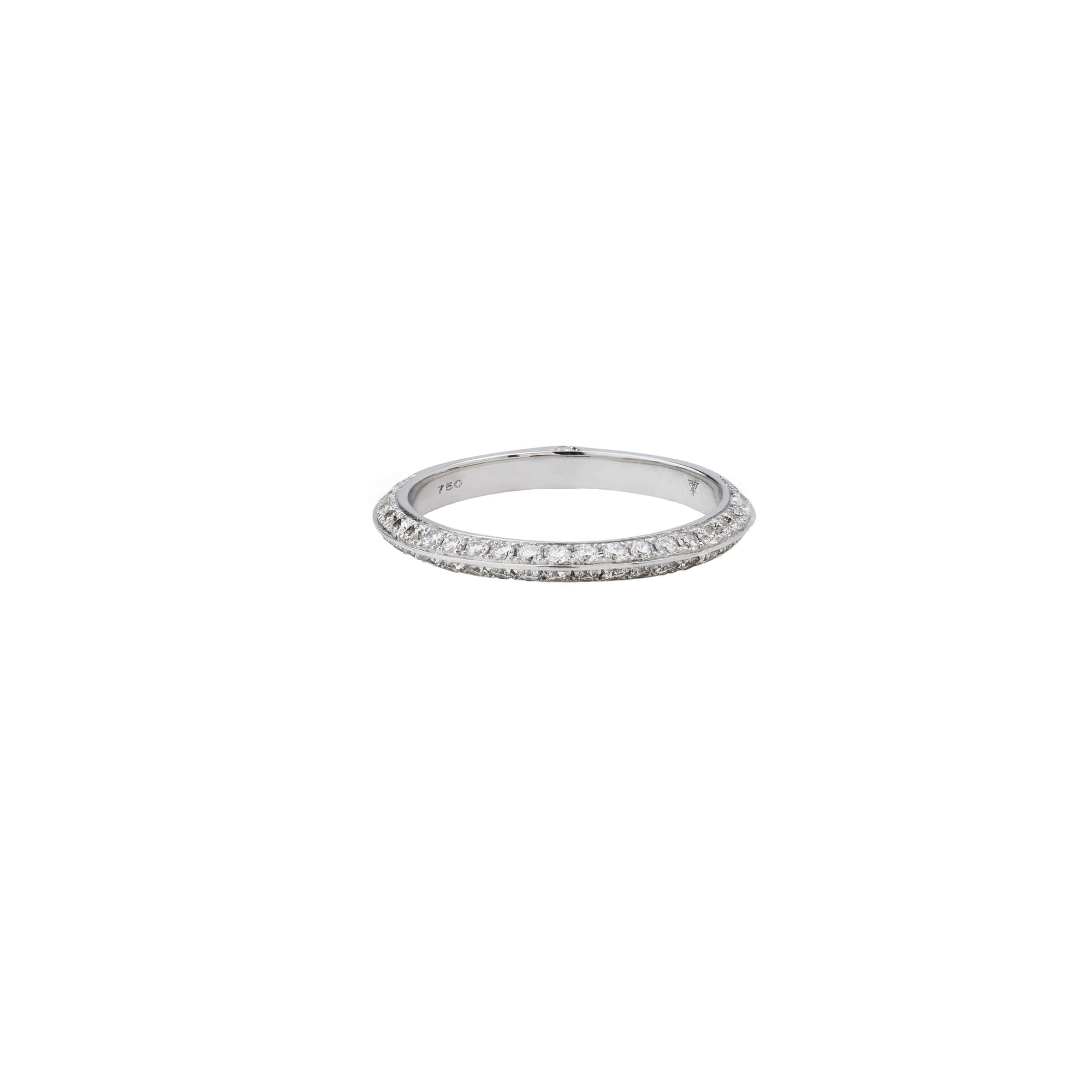 White Gold Diamond Wedding Band | Stephen Webster