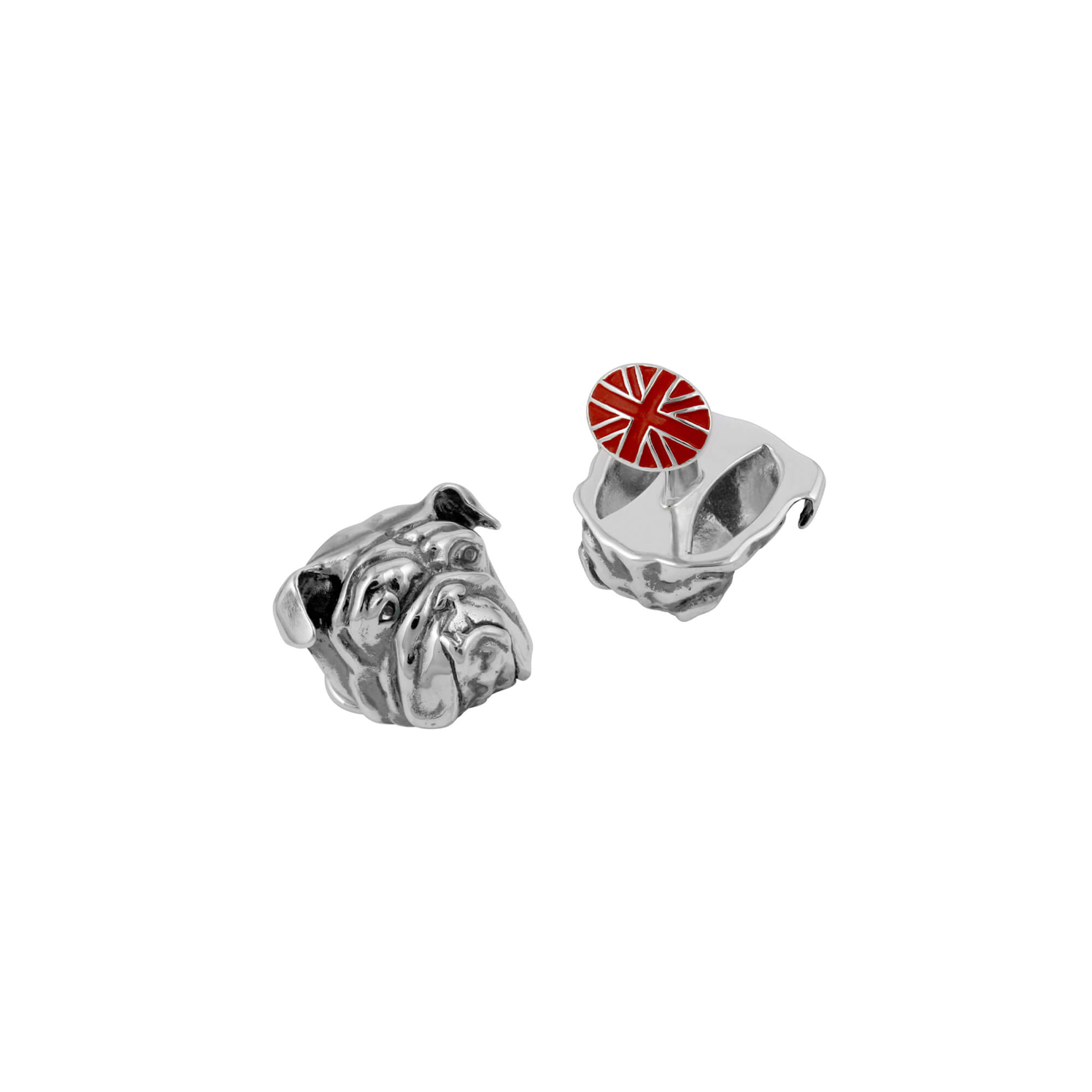 Men's Red Bulldog Cufflinks | Stephen Webster