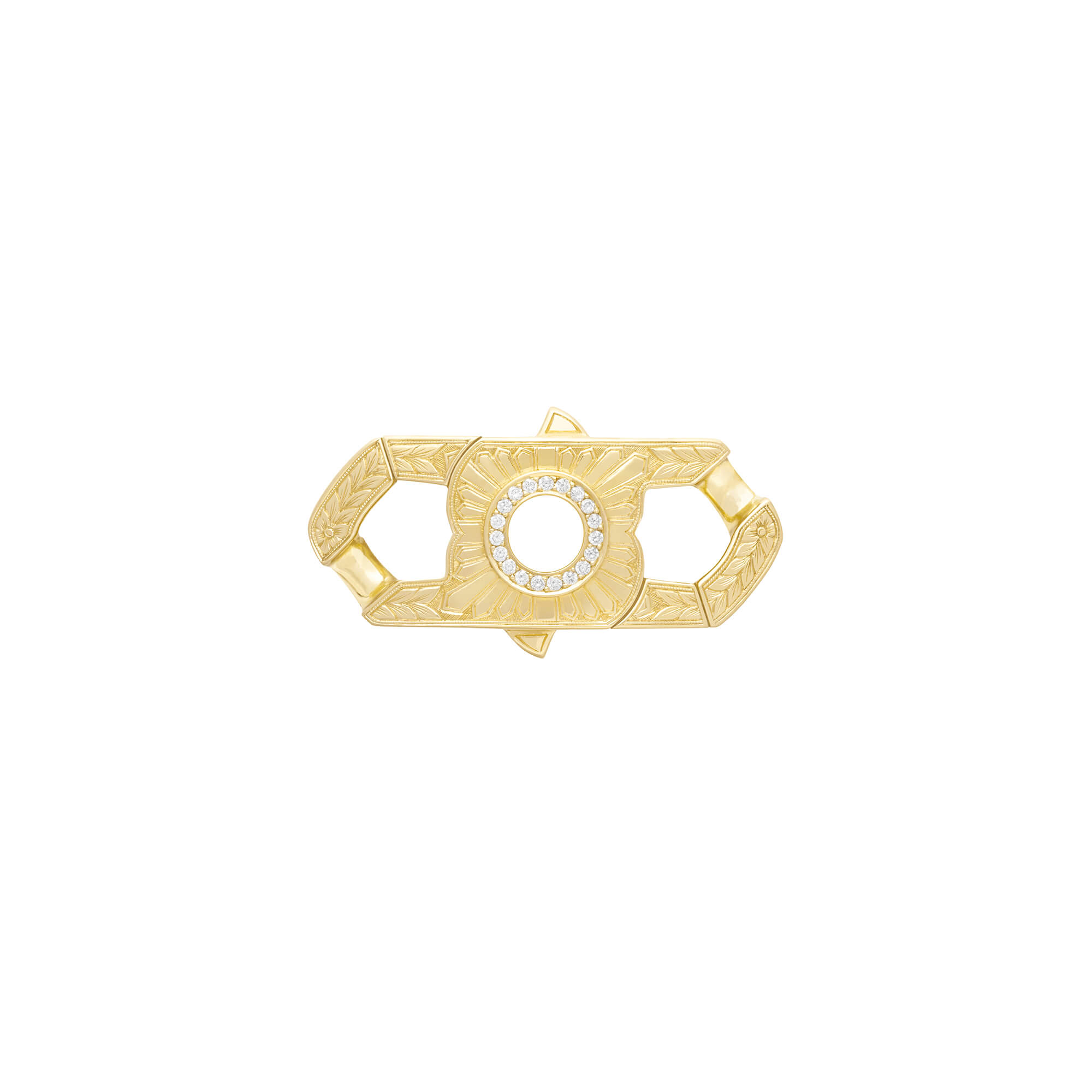 Men's Yellow Gold Churchill Clasp | England Made Me