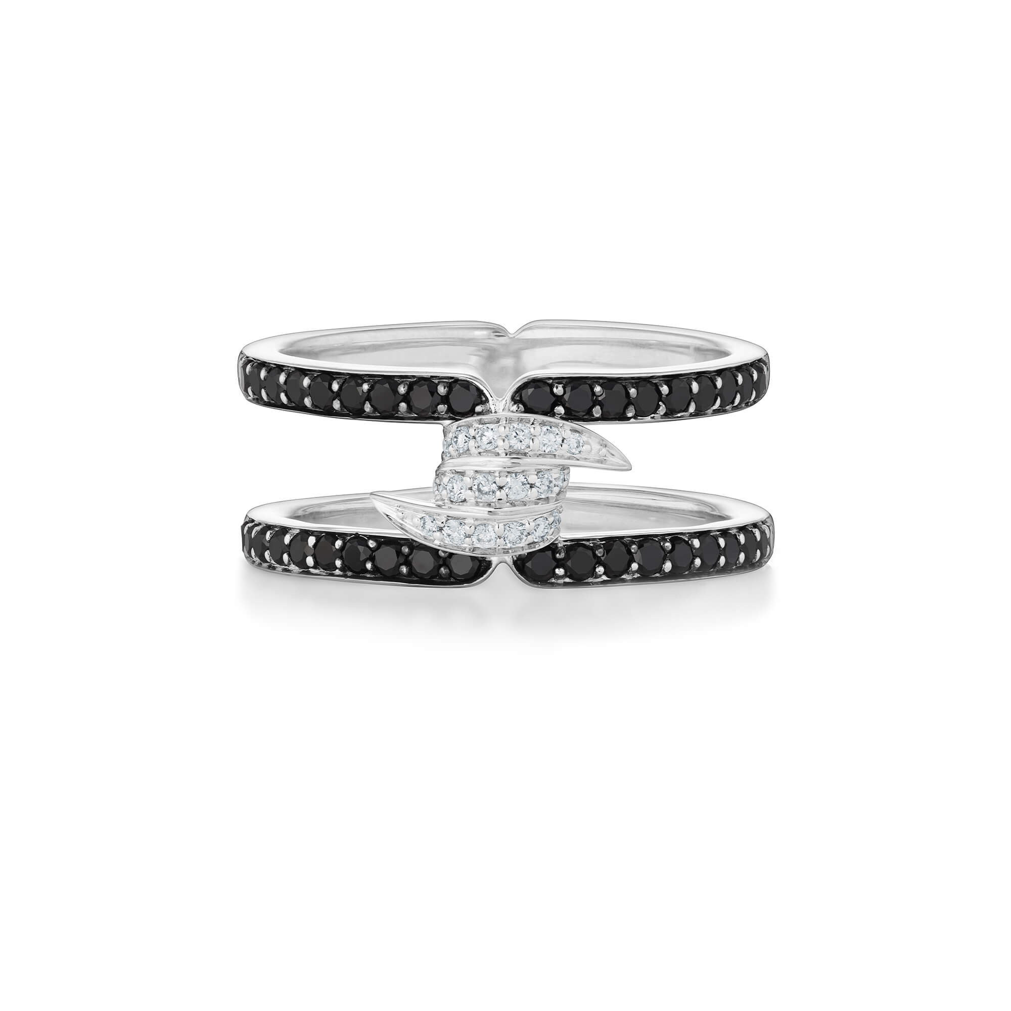 Forget Me Knot Diamond Band Ring | No Regrets Chapel