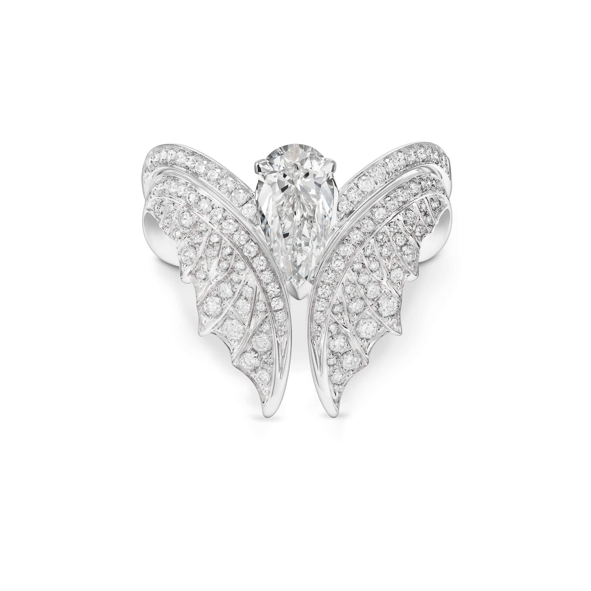Magnipheasant White Gold Nesting Ring - Image 1 | No Regrets Chapel