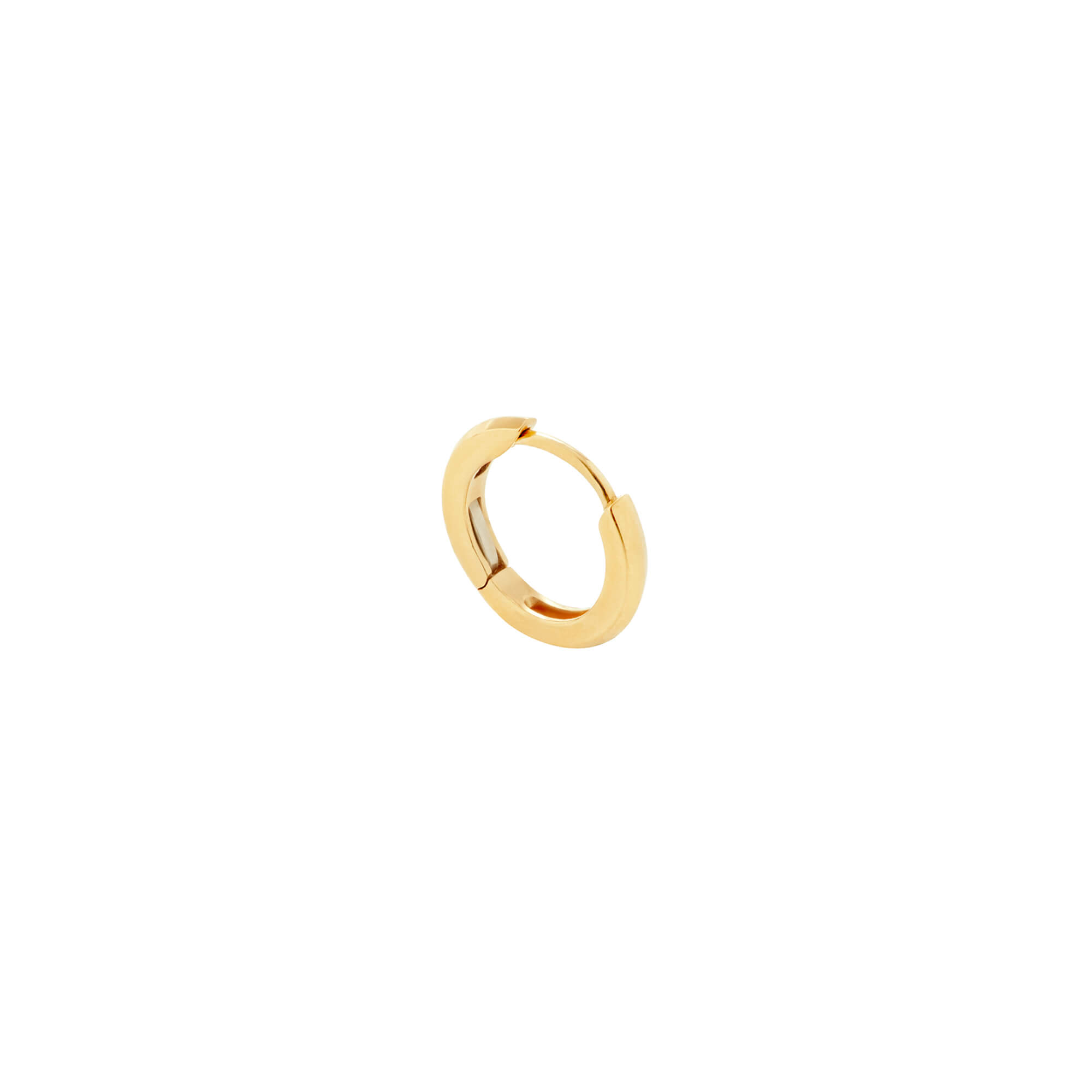 Single Yellow Gold Sleeper | Mens | Stephen Webster
