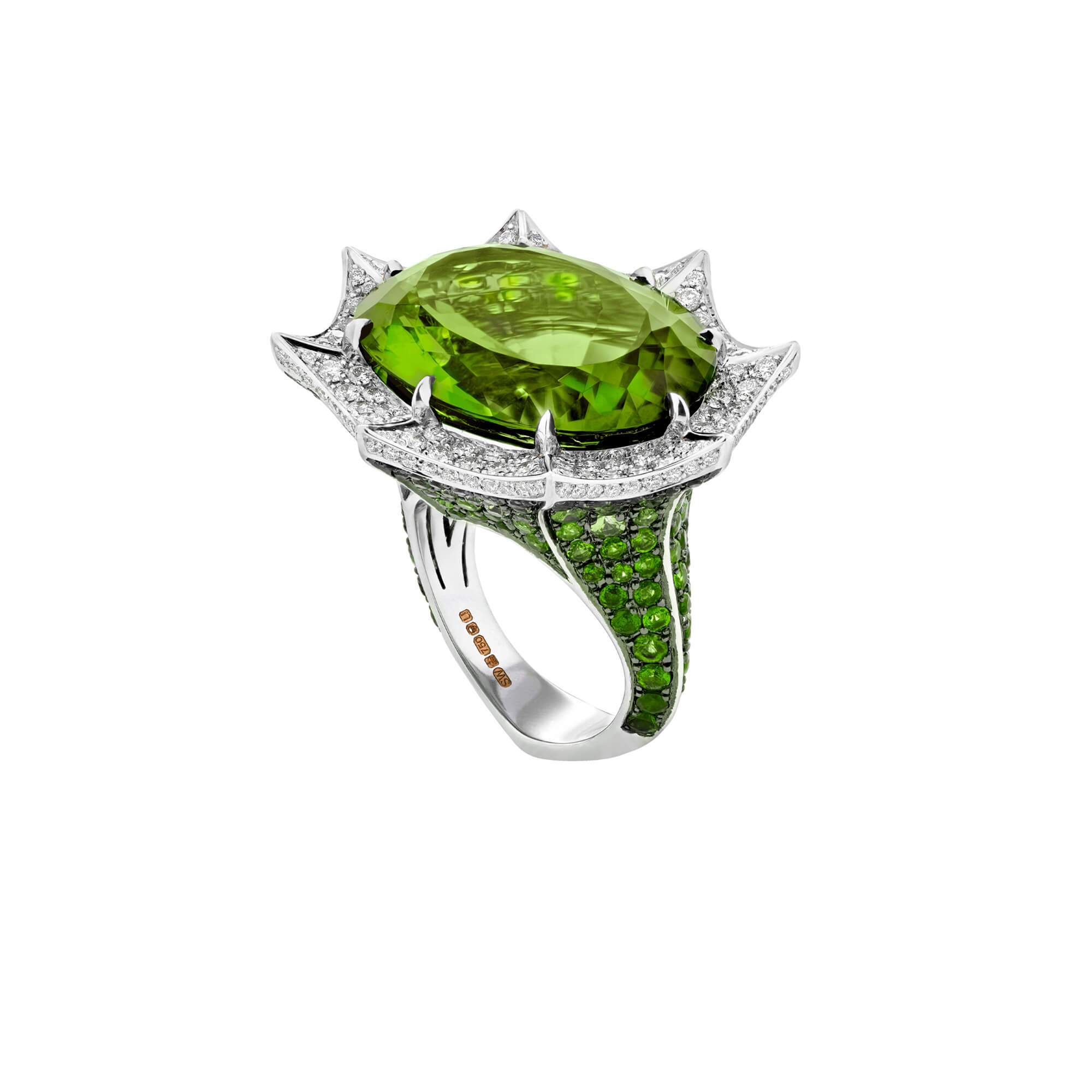 Murder She Wrote Angels Trumpet Ring | No Regrets