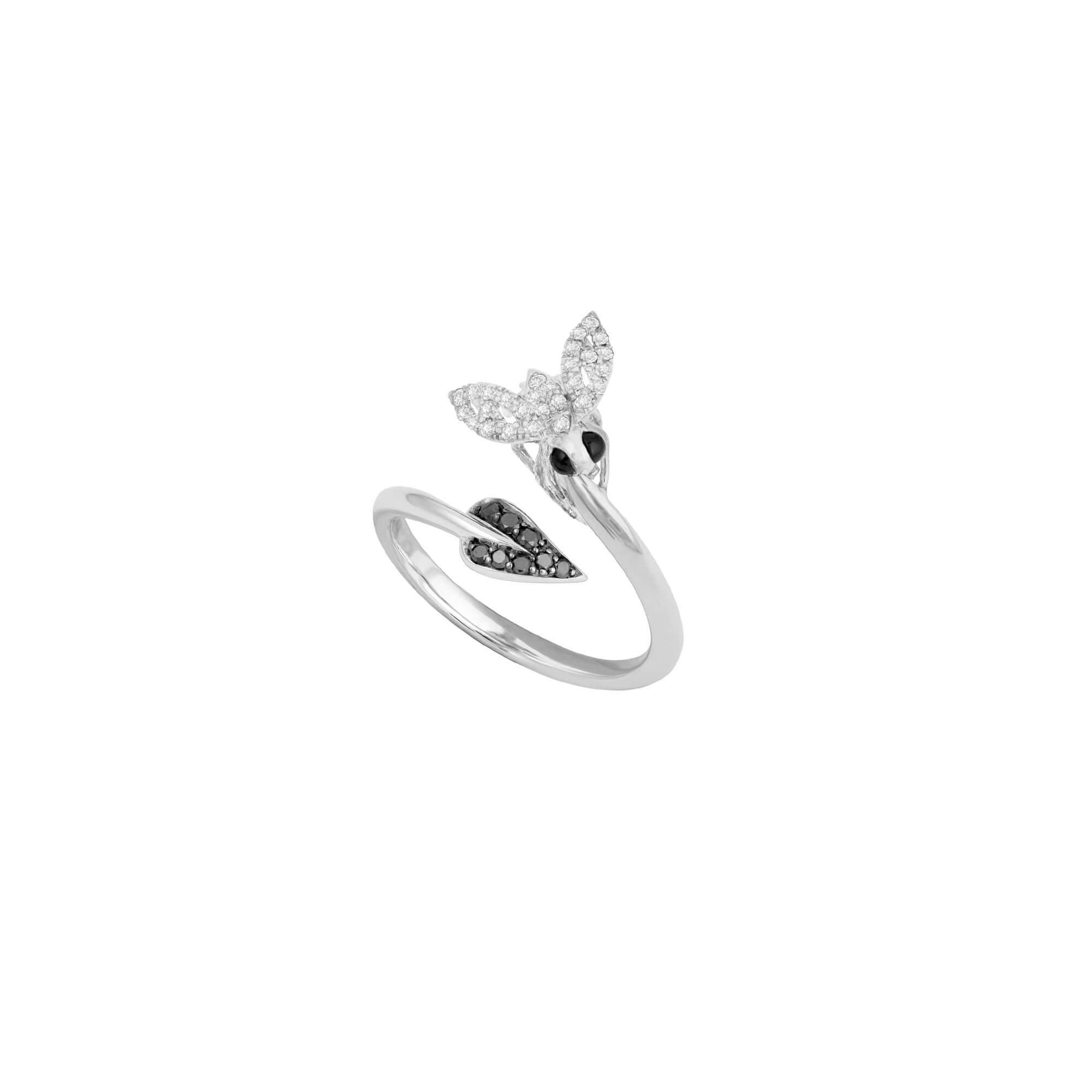 White Diamond Pavé Stacking Ring | Fly By Night