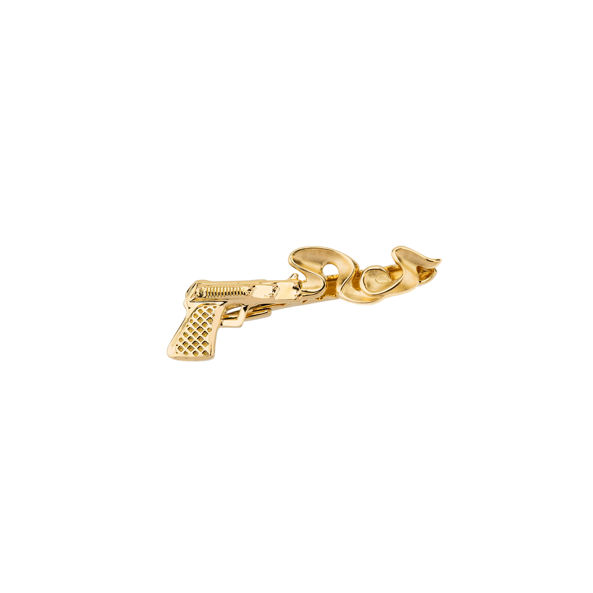 Smoking Gun Yellow Gold Tie Pin | Mens | Stephen Webster