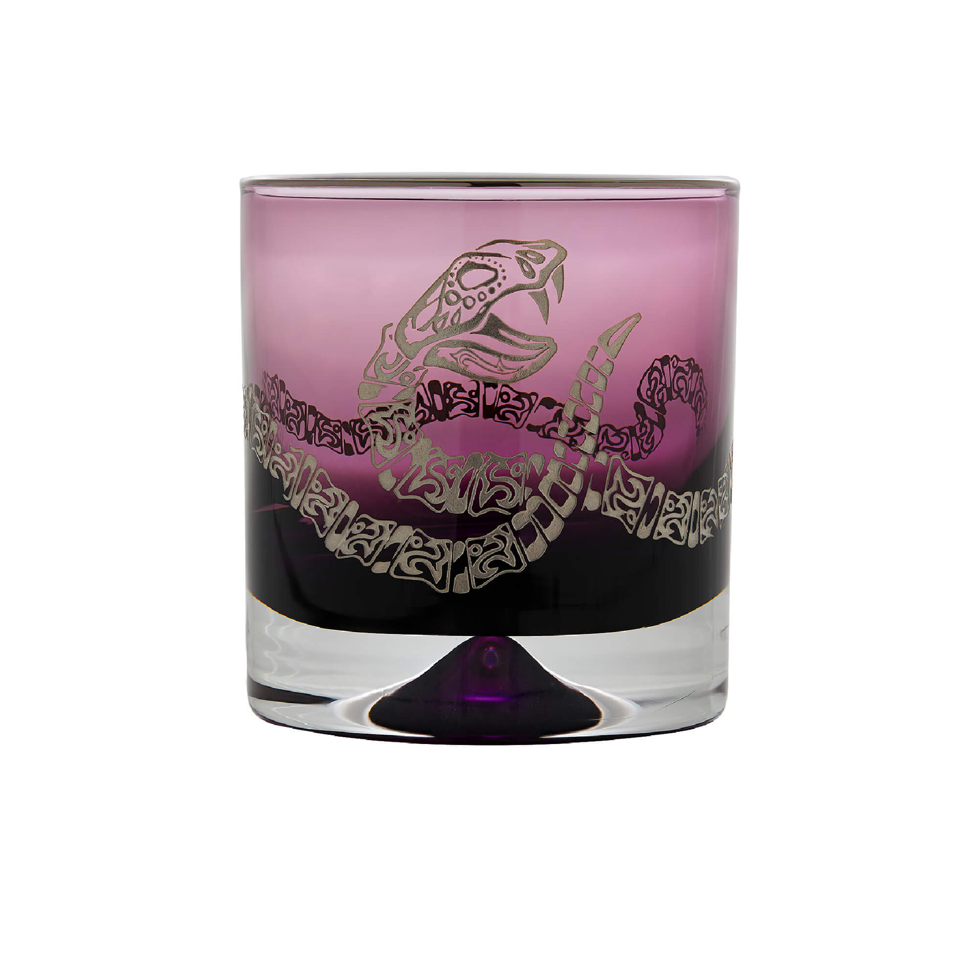 Amethyst Tumbler with Engraved Rattlesnake | Stephen Webster