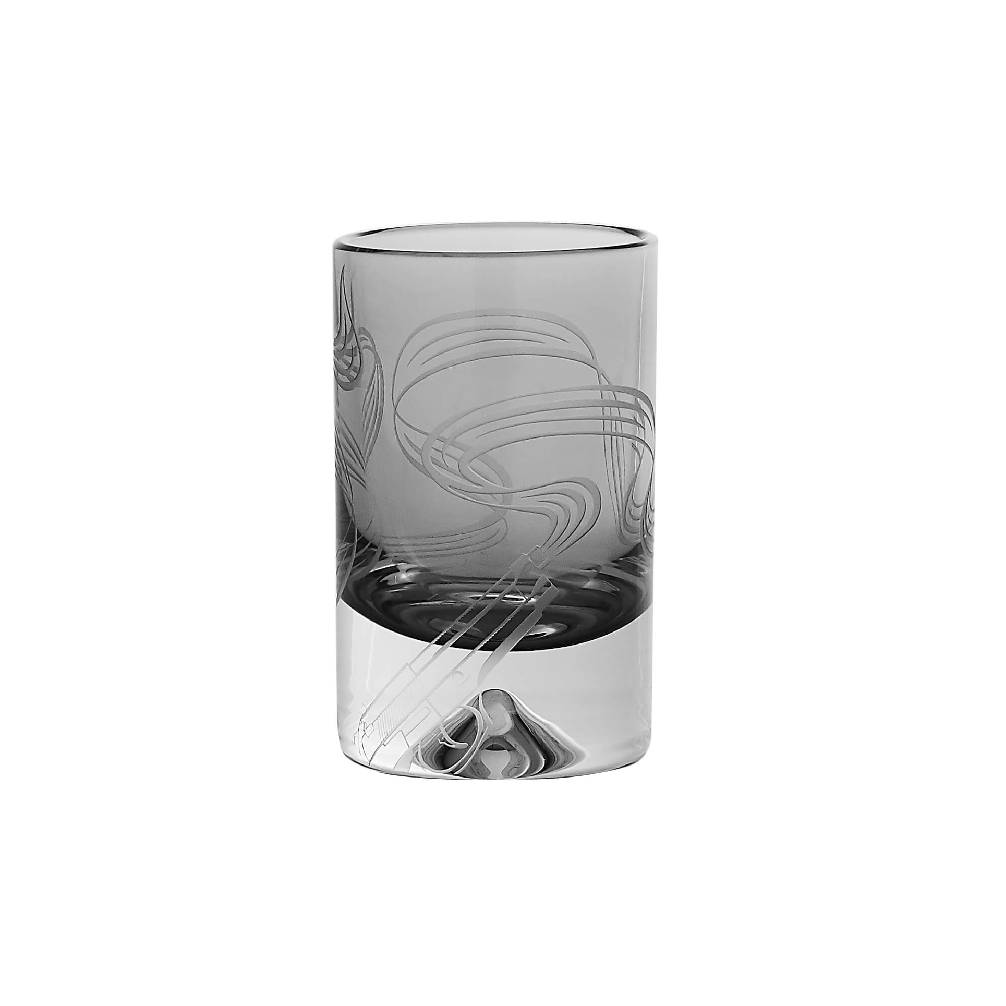 Smoking Gun Shot Glass | Russian Roulette