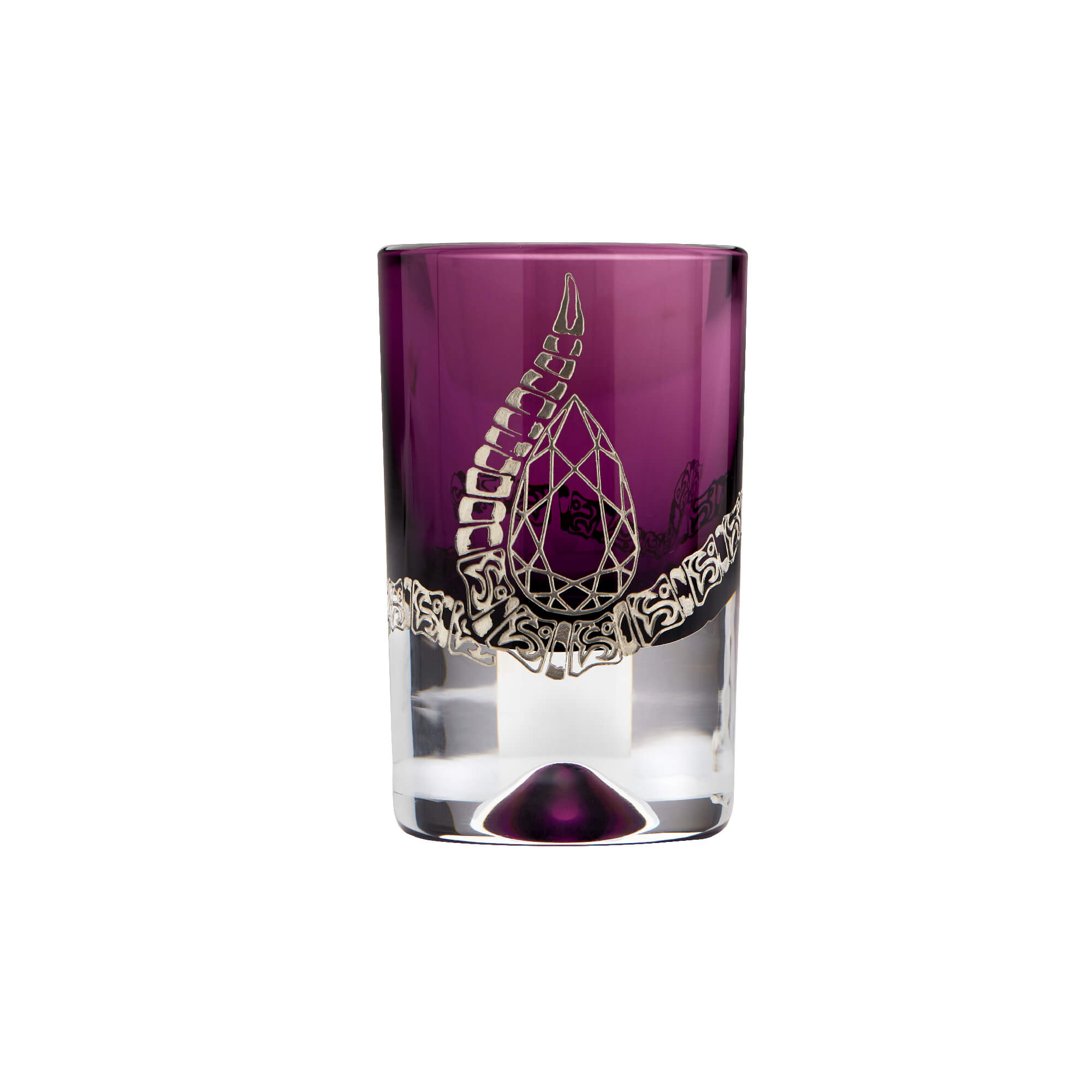 Amethyst Shot Glass with Engraved Rattlesnake | Stephen Webster
