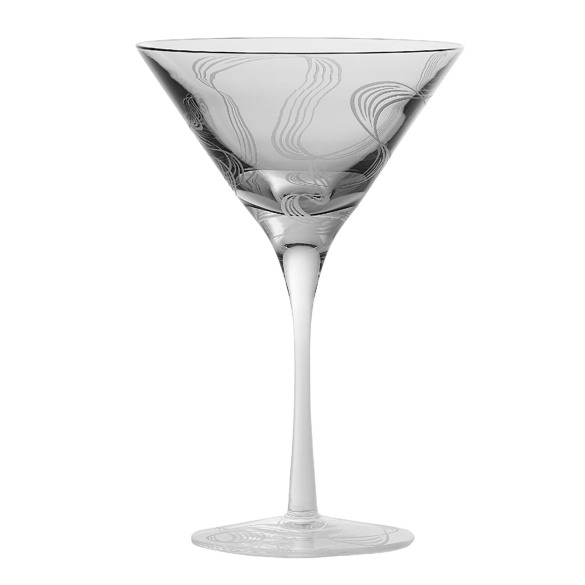 Smoking Gun Martini Glass | Russian Roulette