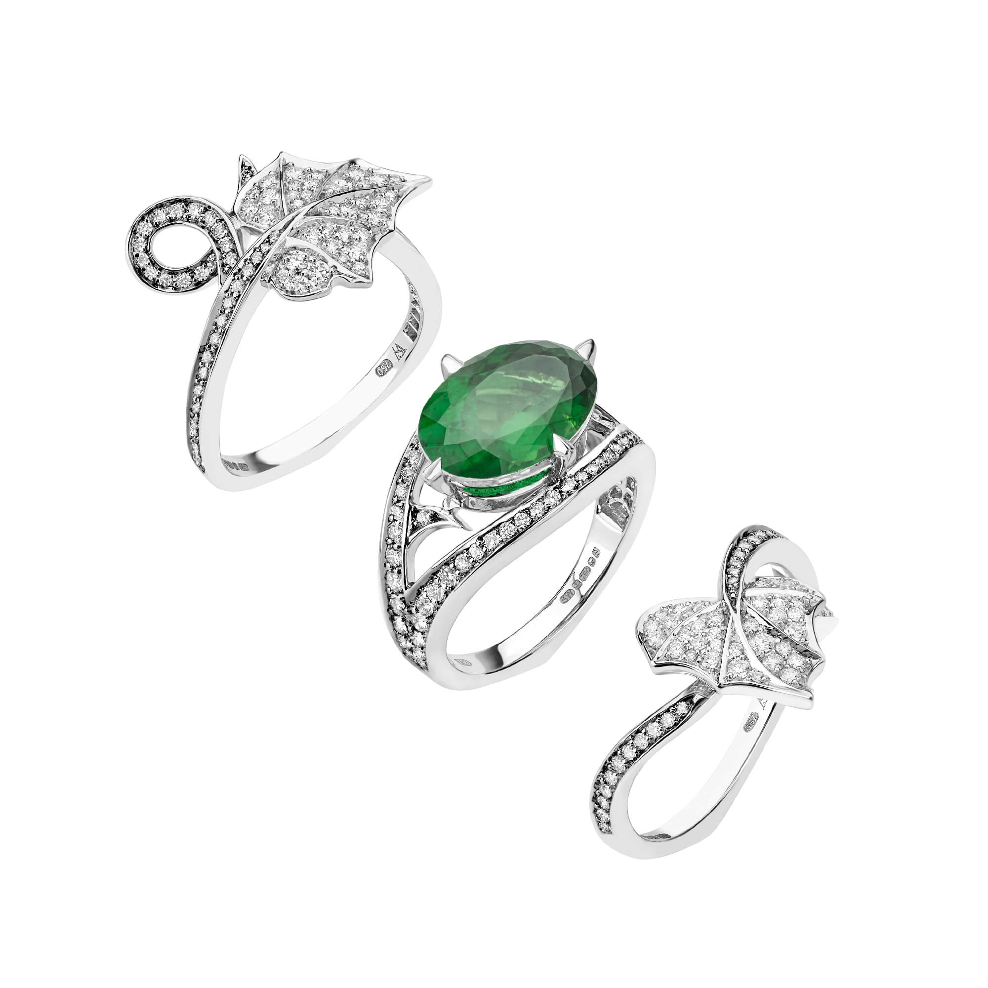 Poison Ivy Green Tourmaline Cocktail Ring - Image 1 | No Regrets