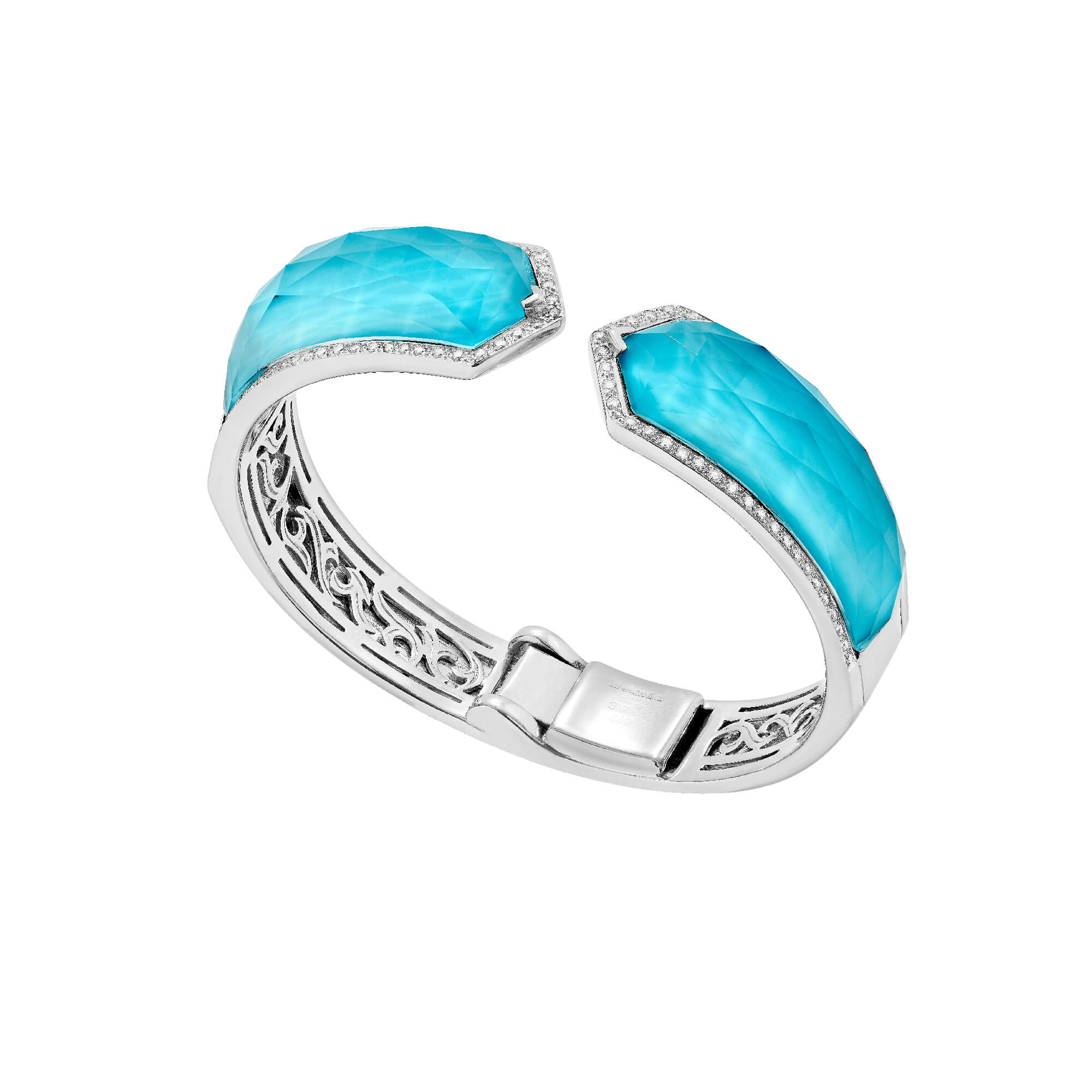 Turquoise Crystal Haze Bracelet | No Regrets