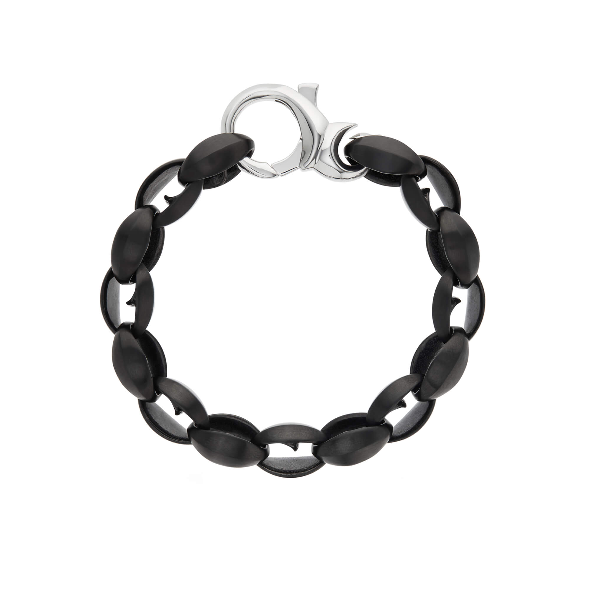 Men's Thorn Large Oval Bracelet | Stephen Webster