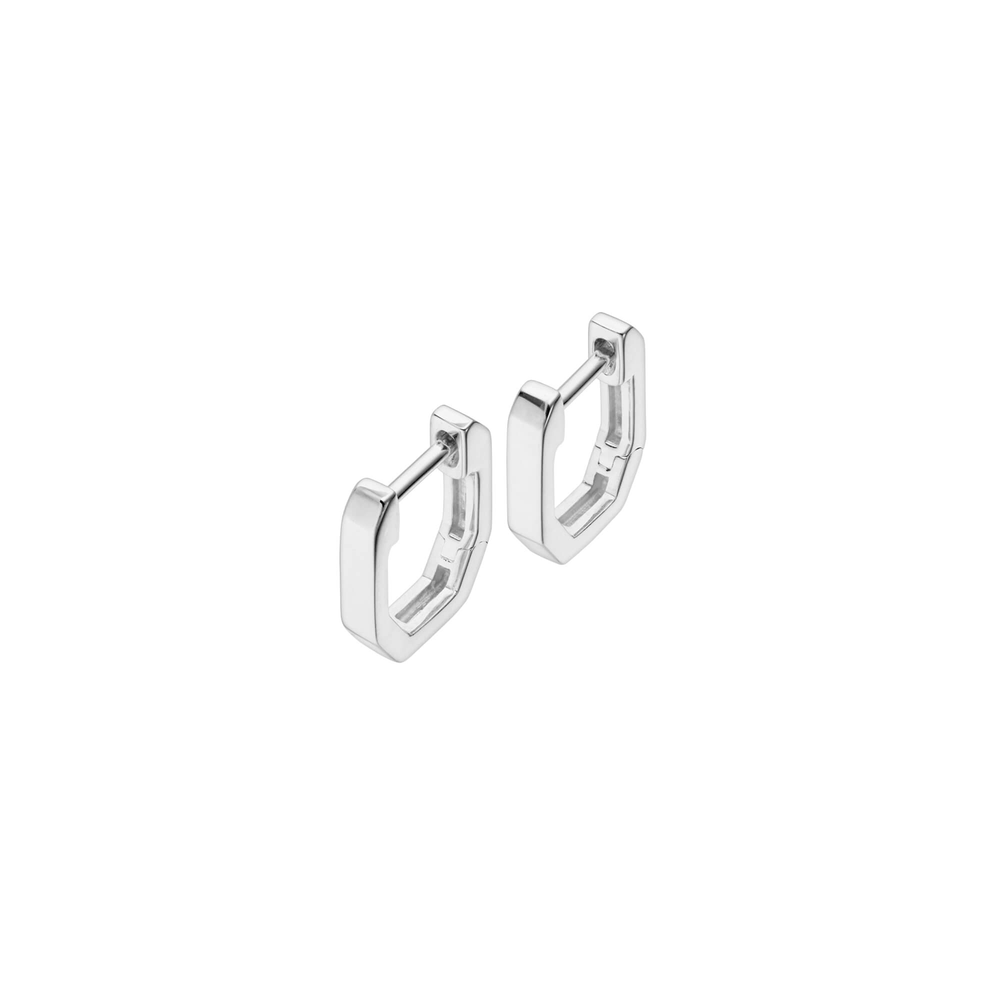 18ct White Gold Sleepers | CH₂