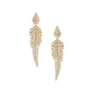 stephen-webster-Christmas-gift-magnipheasant-rose-gold-diamond-earings