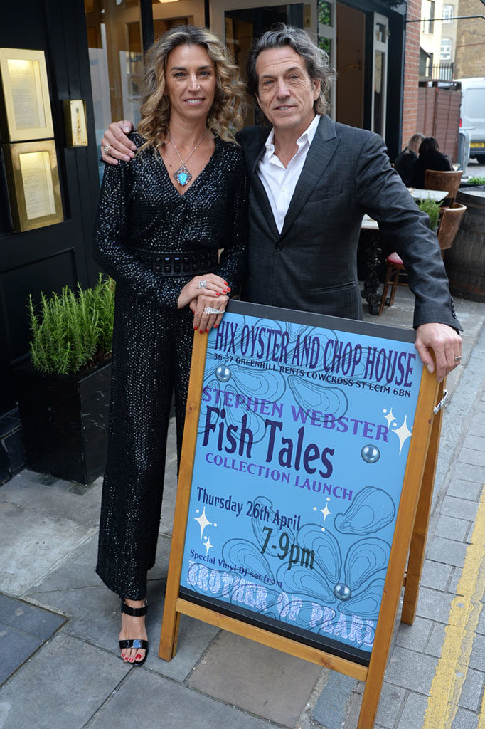 Stephen Webster London Fish Tales Launch Party