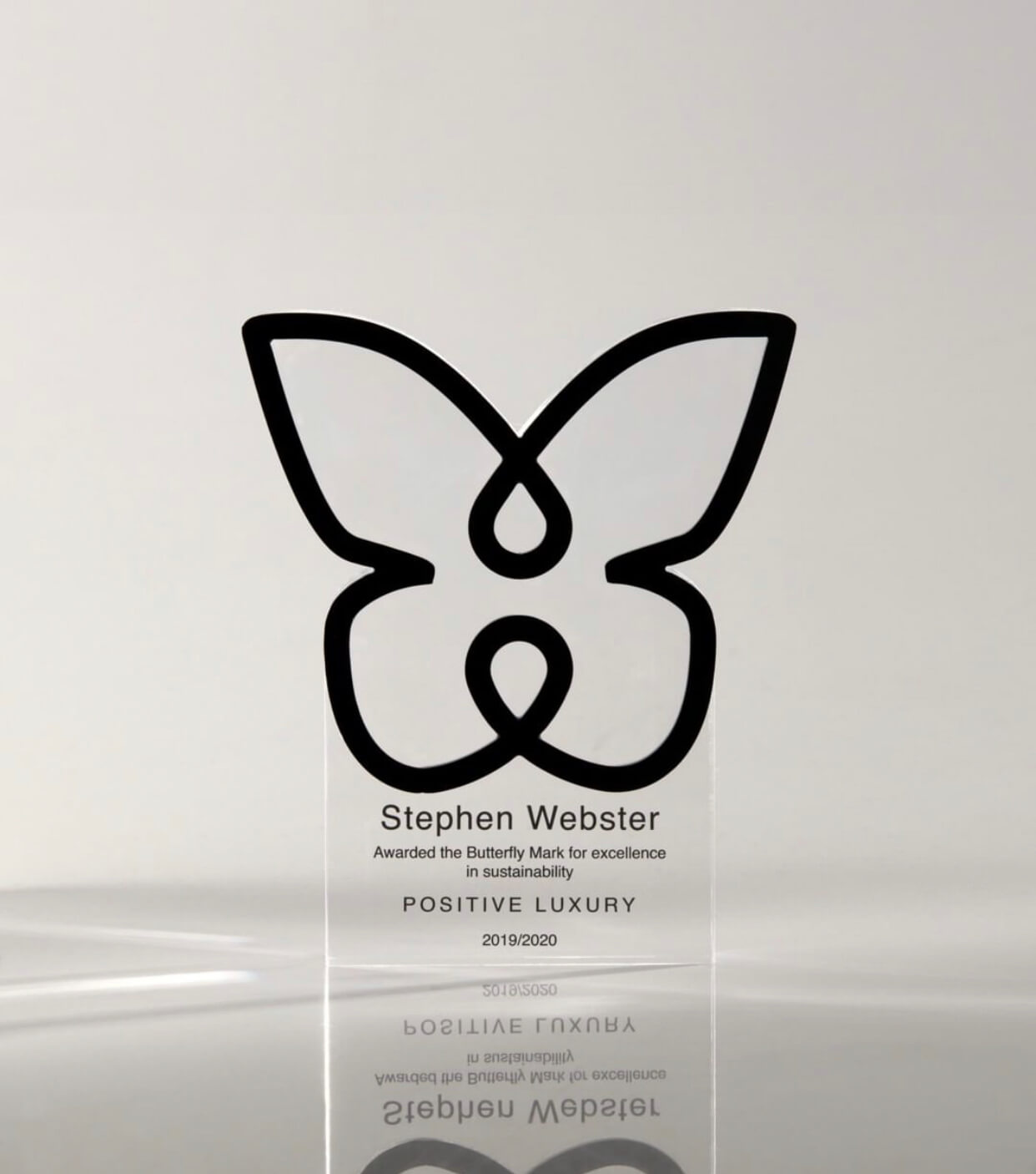 Positive Luxury Butterfly Award Stephen Webster